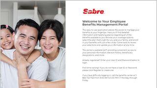 Sabre Benefits Portal