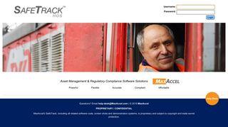 Safetracks Login
