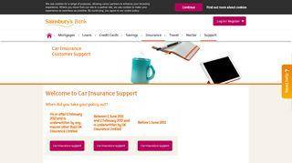 Sainsburys Car Insurance Login
