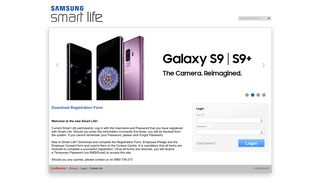Samsung Smart Life Login
