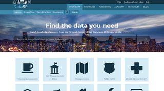 San Francisco Open Data Portal