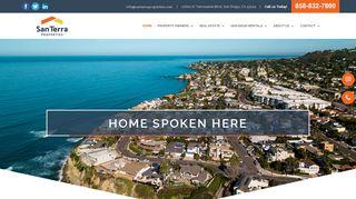 San Terra Properties Tenant Portal