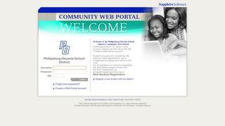 Sapphire Student Portal