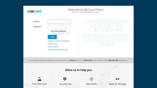 Sbi Simply Save Card Login