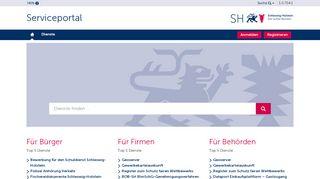 Schleswig Holstein Service Portal