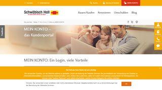Schwäbisch Hall Online Service Portal