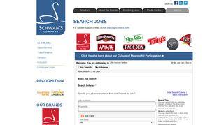Schwans Career Portal