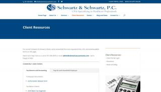 Schwartz And Schwartz Client Portal