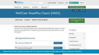 Select Care Texanplus Provider Portal
