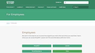 Sharp Employee Login Extranet