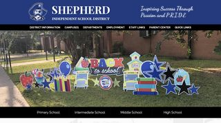 Shepherd Isd Parent Portal