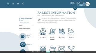 Sherborne Girls Parent Portal