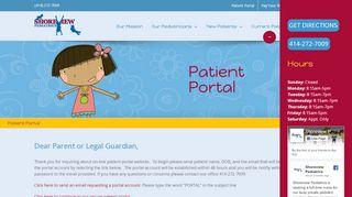 Shoreview Pediatrics Portal