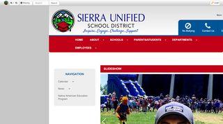 Sierra High School Parent Portal