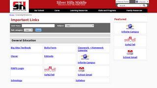 Silver Hills Public School Parent Portal