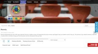 Sioux Falls Public School Parent Portal
