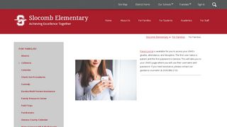 Slocomb Elementary School Parent Portal