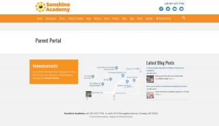 Sonshine Academy Parent Portal