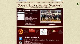 South Huntington School District Parent Portal