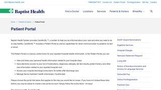 Sparks Clinic Portal