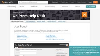 Spiceworks Helpdesk Portal
