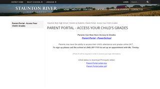 Srhs Parent Portal