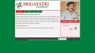 Sri Gayatri Student Portal