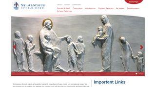 St Aloysius Parent Portal