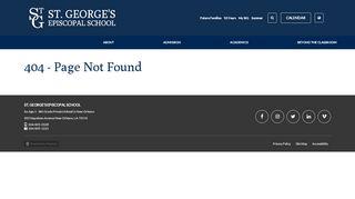 St Georges Parent Portal
