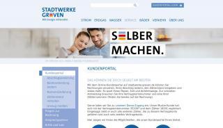 Stadtwerke Greven Online Portal