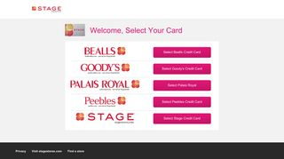 Stage Stores Login