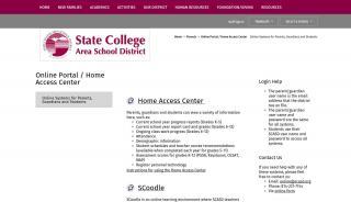 State College Area School District Parent Portal