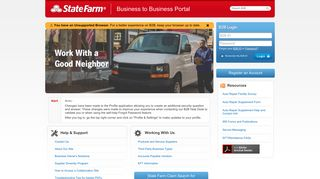 State Farm B2b Portal