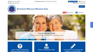 Statewide Medicaid Managed Care Member Portal