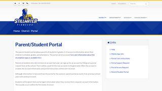 Stillwater Parent Portal