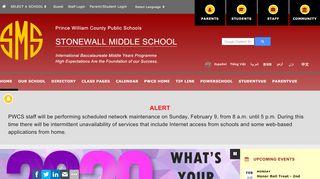 Stonewall Middle School Parent Portal