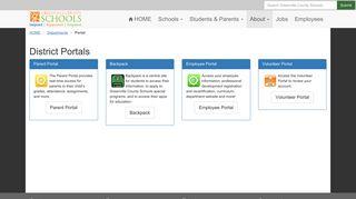Student Backpack Portal