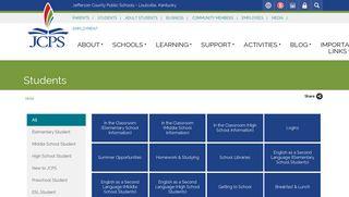 Student Campus Portal Jcps