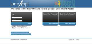 Student Enrollment Portal