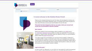Student Home Portal Portsmouth