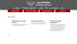 Student Portal Los Arboles