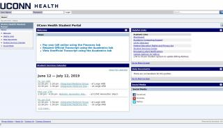 Student Portal Uchc