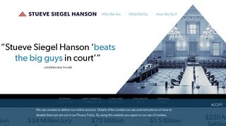 Stueve Siegel Hanson Client Portal