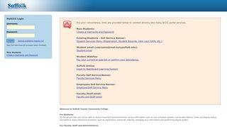 Suffolk Community College Portal