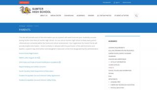 Sumter High School Parent Portal