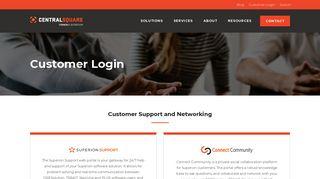 Sungard Customer Connect Portal
