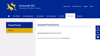 Sunnyvale Isd Parent Portal