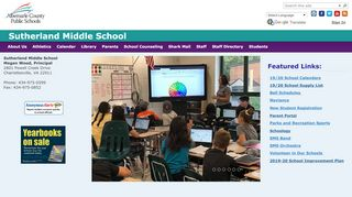 Sutherland Middle School Parent Portal