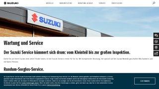 Suzuki Service Portal