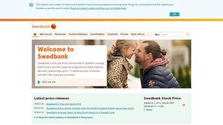Sweden Bank Login
